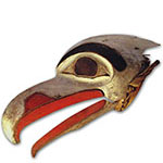 Eagle ceremonial mask